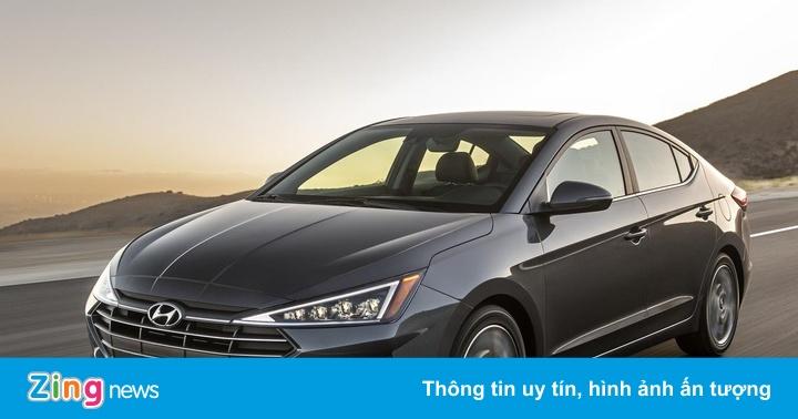 Hyundai Elantra 2020 thêm hộp số vô cấp, tăng giá bán