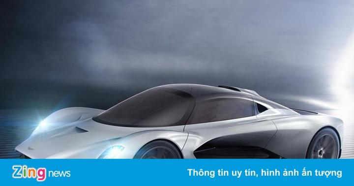 Chưa đặt tên, chưa sản xuất, siêu xe mới của Aston Martin đã bán hết