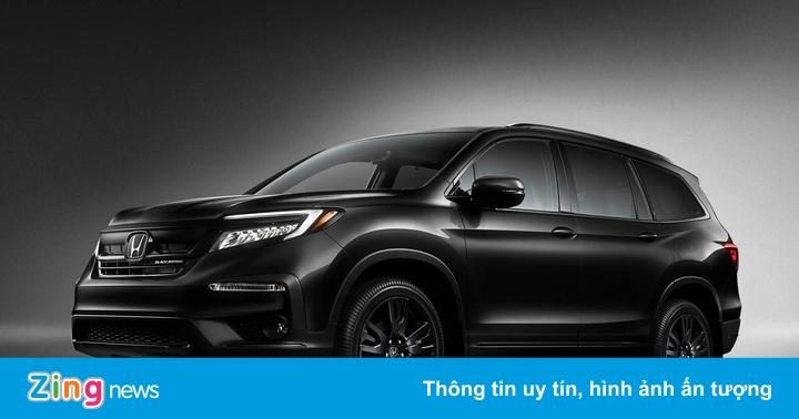 Honda Pilot 2020 phiên bản 'bóng đêm', giá 50.000 USD