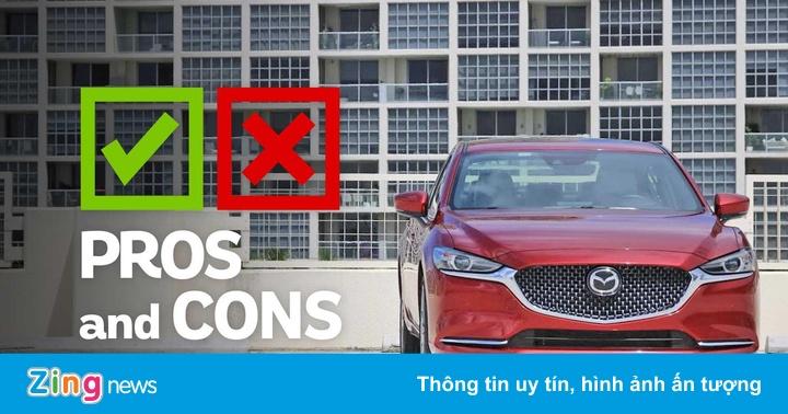 Đánh giá Mazda 6 2019 - đắt đỏ nhưng nhiều công nghệ
