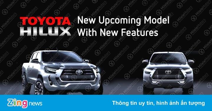 Toyota Hilux 2021 sở hữu động cơ mạnh mẽ hơn
