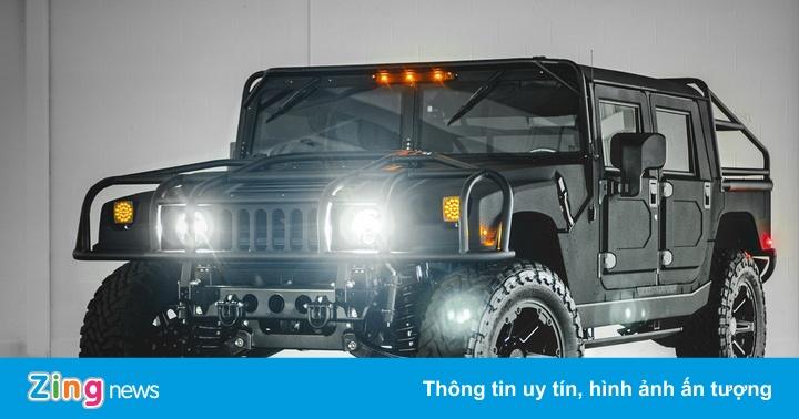 Hummer H1 phiên bản xe off-road ngầu nhất thế giới
