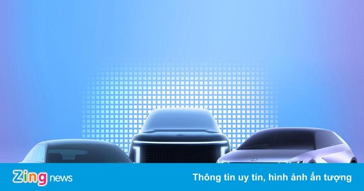 Cổ phiếu Hyundai tăng 15% sau khi ra mắt thương hiệu ôtô điện mới