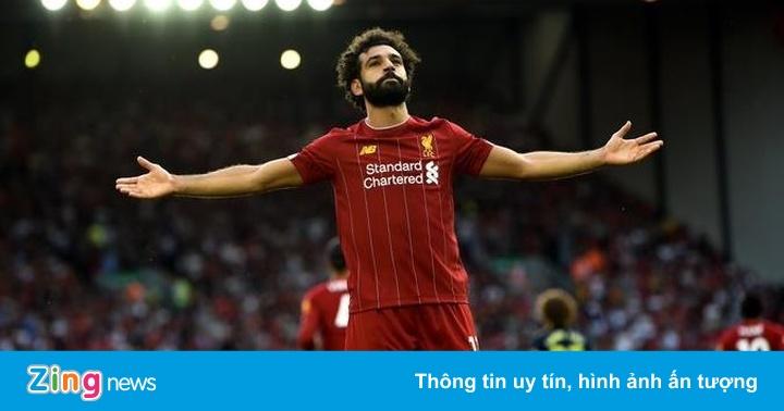 Salah trên đường vươn tới đẳng cấp Messi và Ronaldo
