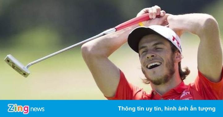 Bale đi chơi golf khi bị Zidane loại khỏi trận gặp Man City