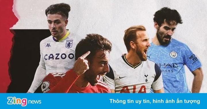 Các ứng viên cho danh hiệu cầu thủ hay nhất Ngoại hạng Anh