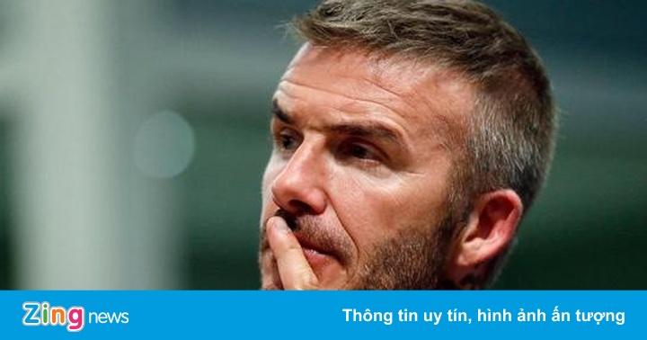 Beckham vỡ mộng làm bóng đá tại Mỹ