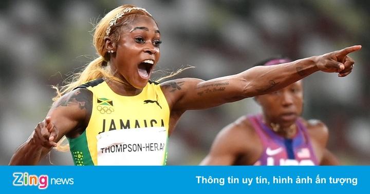 VĐV điền kinh Jamaica phá kỷ lục 33 năm của Olympic