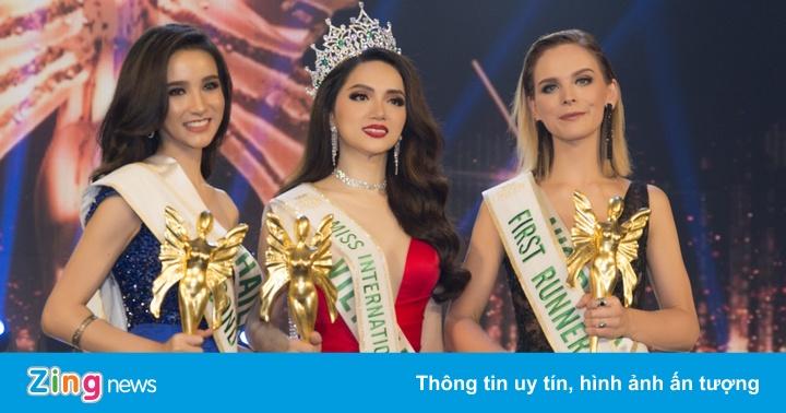 Hương Giang Idol đăng quang Hoa hậu Chuyển giới Quốc tế 2018 - Sao Châu Á -  ZING.VN