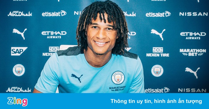 Man City công bố tân binh trị giá 45 triệu euro