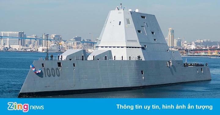 Hải quân Mỹ đau đầu vì siêu chiến hạm đắt nhất lịch sử