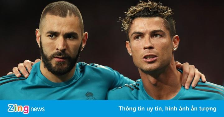 Benzema không sống dưới bóng Ronaldo