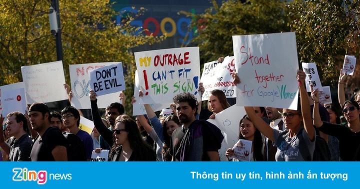 Nhân viên Google xuống đường biểu tình vì bị 'trả thù' trong công ty