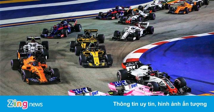 F1 Singapore GP: Sebastian Vettel giành chiến thắng đầu tiên trong năm