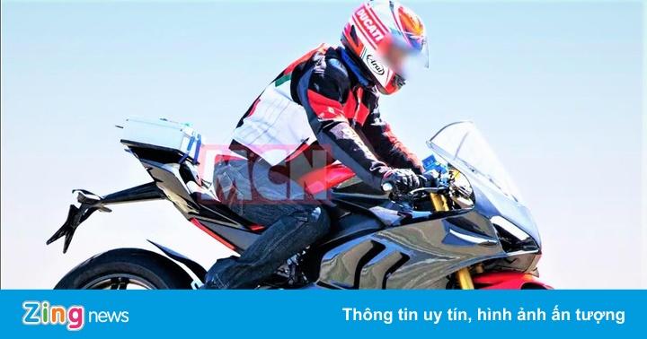 Môtô siêu nhẹ Ducati V4 Superleggera chuẩn bị ra mắt