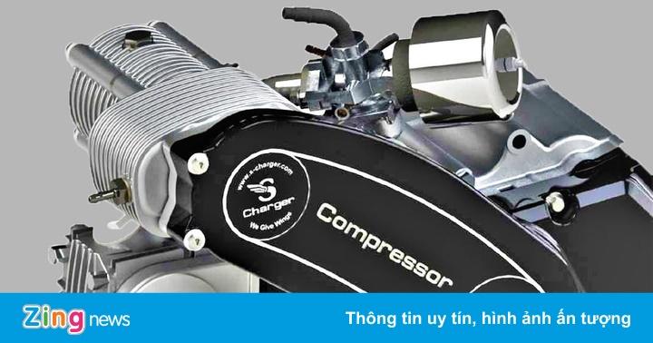 Bộ siêu nạp giá 500 USD biến xe máy tay ga 125 cc thành siêu xe?