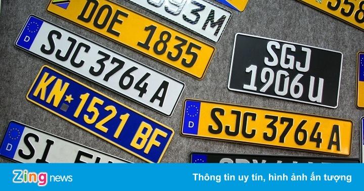 Các quốc gia trên thế giới dùng biển số màu vàng cho những loại xe gì?