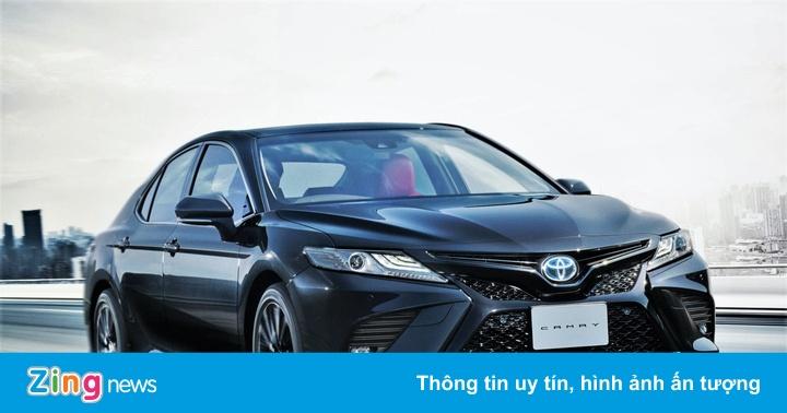 Toyota Camry kỷ niệm 40 năm bằng phiên bản Black Edition