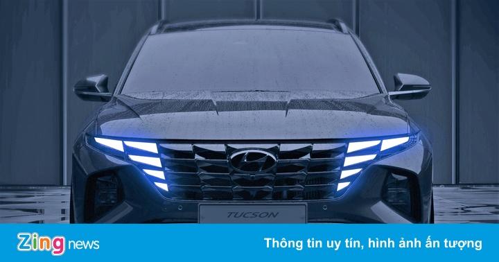 Hyundai Tucson 2021 lộ diện - ảnhchụplén