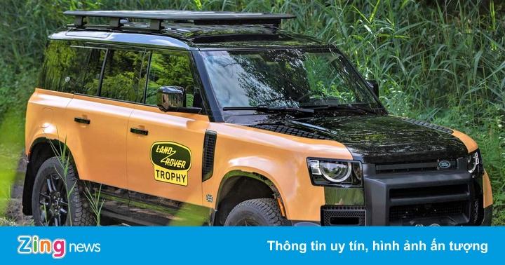 Land Rover Defender phiên bản giới hạn được tăng khả năng off-road