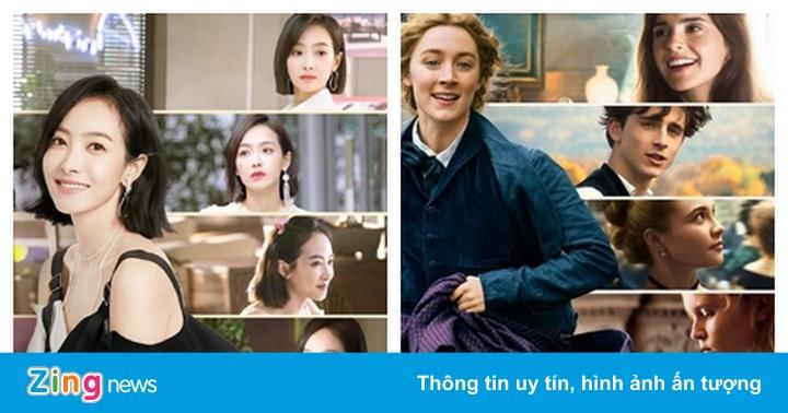 Phim truyền hình Trung Quốc bị tố đạo nhái poster ''Little Women''