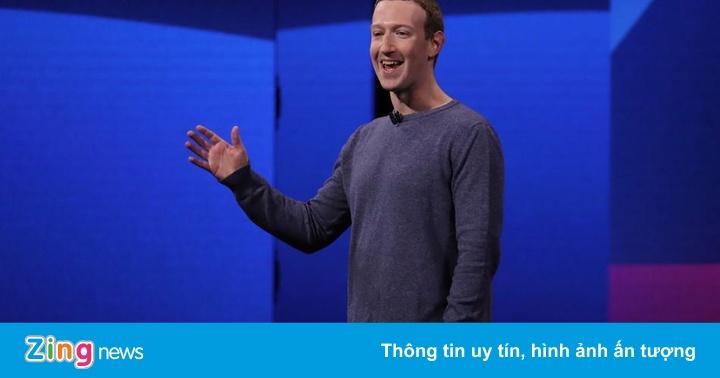 Mark Zuckerberg đùa 'thiếu muối' rồi tự cười tại sự kiện Facebook