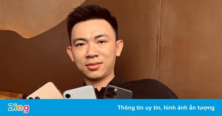 Một người Việt đã có đủ 3 chiếc iPhone mới dù Apple chưa mở bán