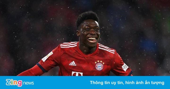 Alphonso Davies – ngôi sao trẻ Bayern tỏa sáng trước Chelsea