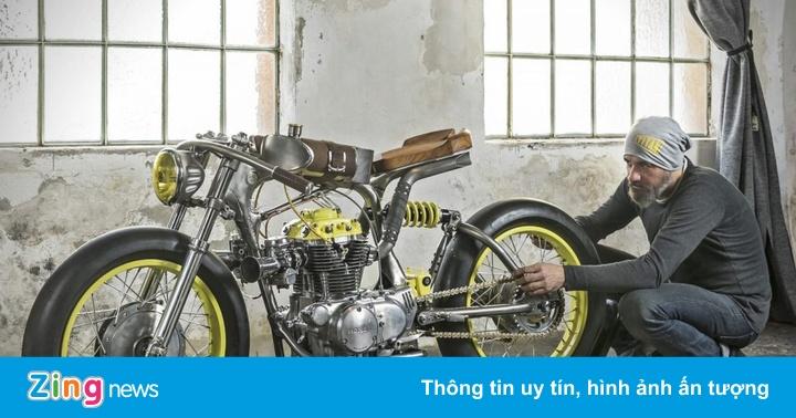 """Ảnh Honda CB350 """"One"""": Bản độ tôn vẻ đẹp cơ khí"""