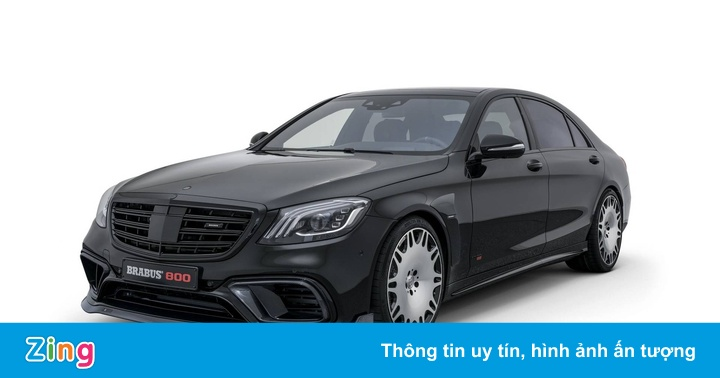 Mercedes-AMG S63 độ 789 mã lực, tăng tốc như siêu xe