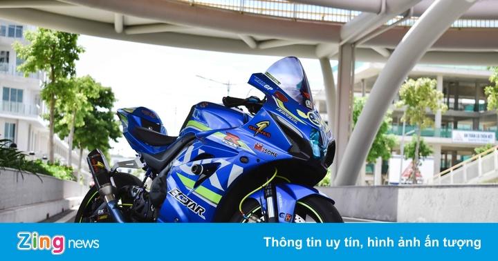 Biker Việt chi hơn 100 triệu lên đồ cho Suzuki GSX-R1000