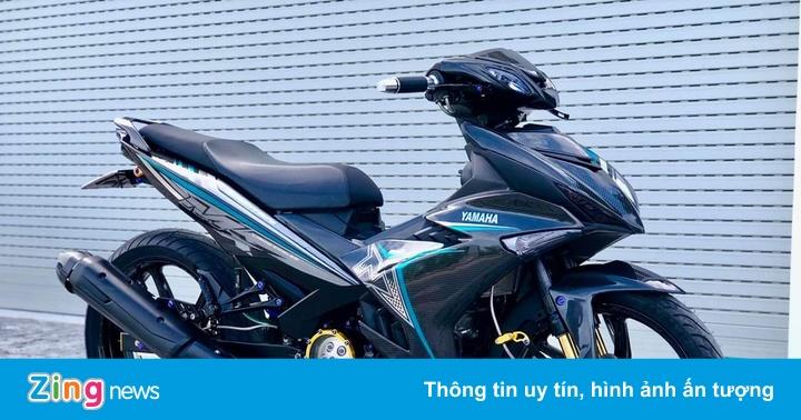 Yamaha Exciter phủ carbon hơn 15 triệu đồng tại Việt Nam