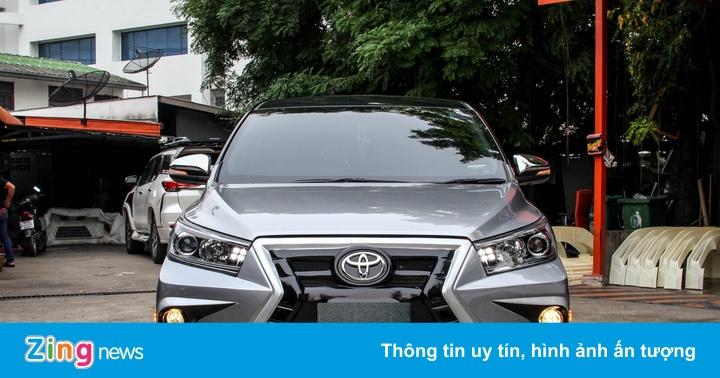 Toyota Innova phiên bản độ theo phong cách Lexus
