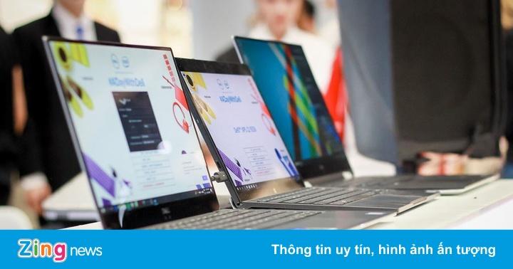 Laptop 2-trong-1 mỏng nhất thế giới đến Hà Nội