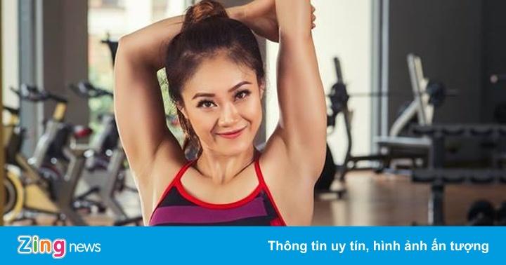 7 bài tập giảm mỡ toàn thân của HLV xinh đẹp – Sức khỏe