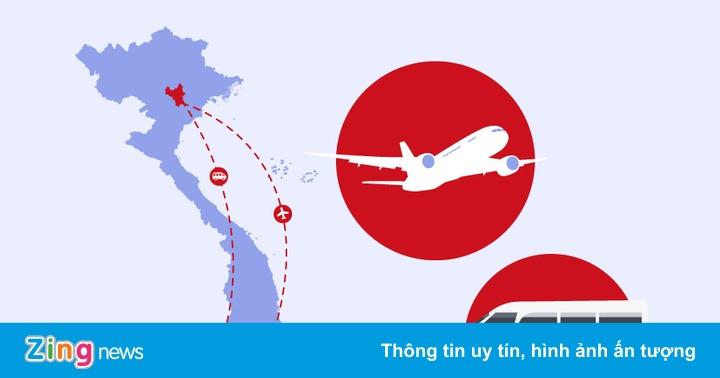 Bộ Y tế tìm người trên chuyến bay, xe khách về Hà Nội và TP.HCM - xs thứ hai