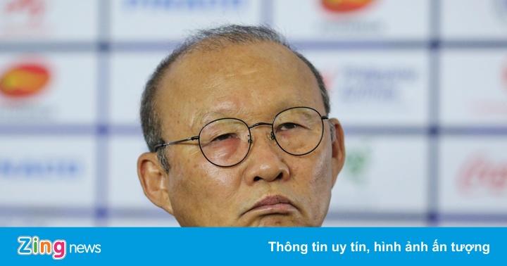 HLV Park: 'Tôi bị đau mắt nhưng không sao đâu'
