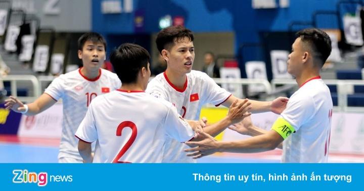 Futsal Việt Nam đặt mục tiêu dự World Cup