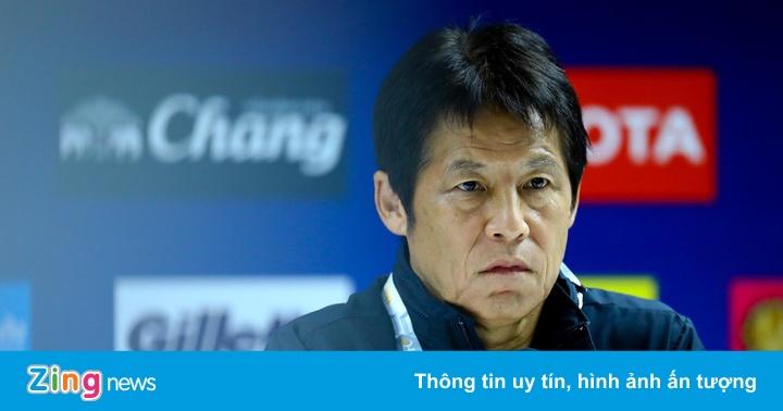 HLV Nishino lên tiếng về vụ mất liên lạc với tuyển Thái Lan