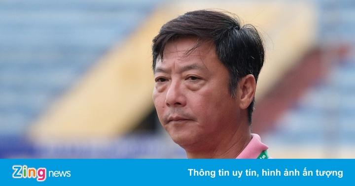 HLV Lê Huỳnh Đức thất vọng khi CLB Đà Nẵng phải đua trụ hạng