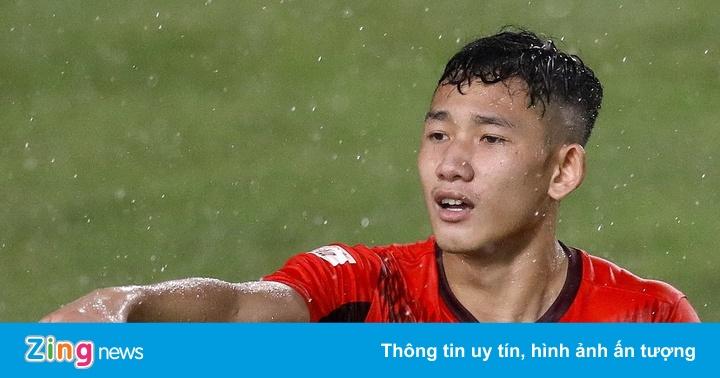 Hai Long về nhất bài kiểm tra thể lực của U22 Việt Nam