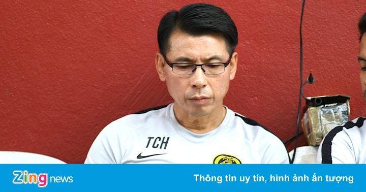 HLV Tan Cheng Hoe đón tin vui trước vòng loại World Cup