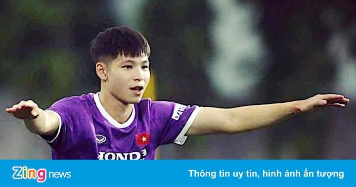 Trung vệ U22 Việt Nam: 'Cường độ tập luyện trên tuyển rất nặng'