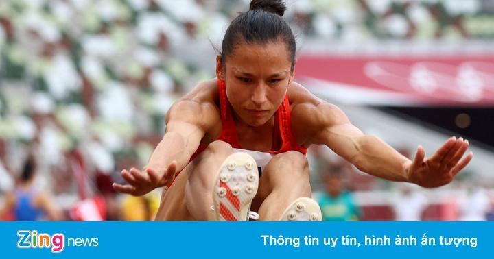 VĐV gốc Việt đứng thứ 7 vòng loại nhảy xa