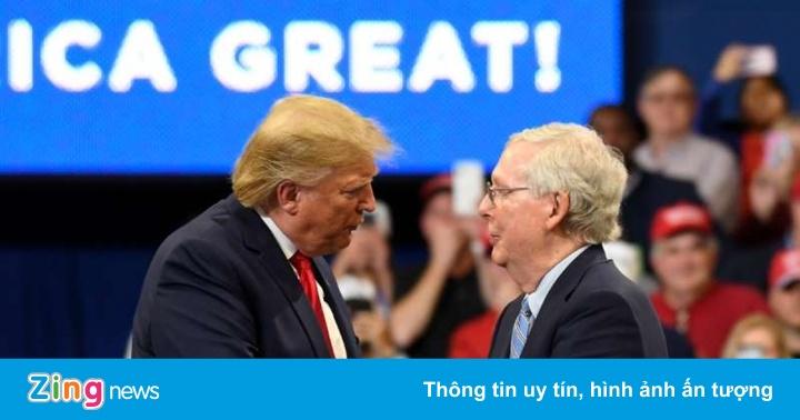 Ông Trump không ngừng xúc phạm lãnh đạo đảng Cộng hòa