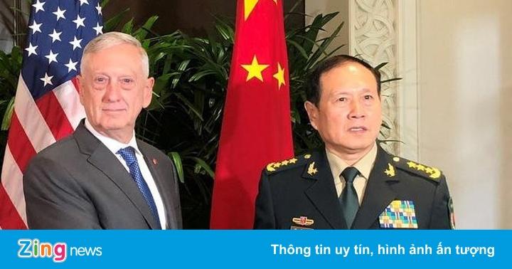 Ông Mattis tìm cách xoa dịu căng thẳng quân sự với Trung Quốc