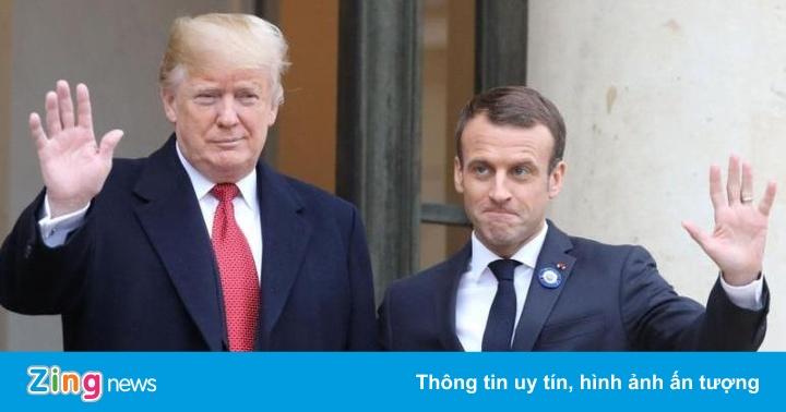 Ông Trump: Không có Mỹ, người Pháp đã nói tiếng Đức