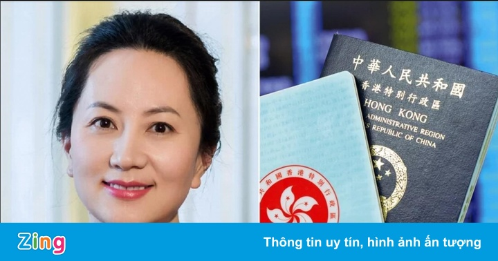 """""""Công chúa Huawei"""" bị bắt có đến 7 cuốn hộ chiếu"""