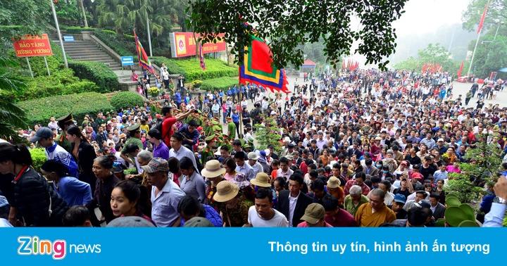 """Phú Thọ quyết đạt """"5 không"""" ở Lễ hội Đền Hùng 2018"""