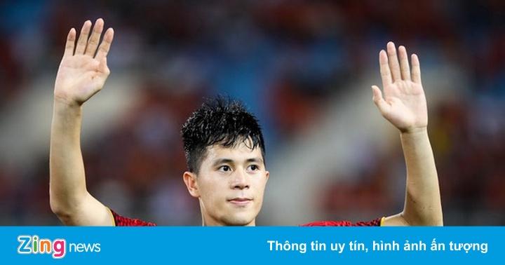 HLV Park Hang-seo có thể gọi Đình Trọng trở lại dự Asian Cup 2019